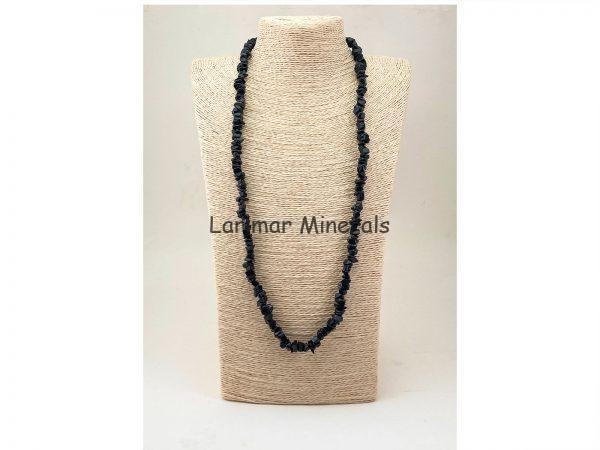 Collar chip Turmalina negra